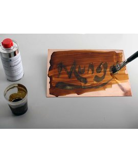 Water-Soluble Ink For Lift-Ground Etching