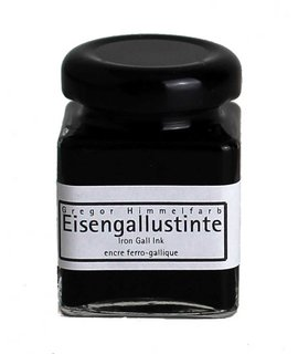 Genuine Iron Gall Ink for Calligraphy and Drawing 50ml